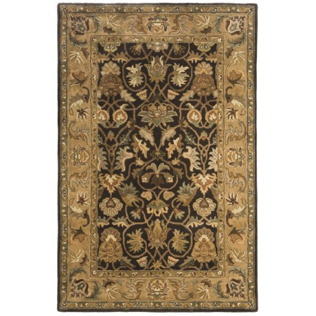 Kaleen Blossom 100% Fine Wool Area Rug - 5'x7'9""