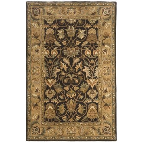"Kaleen Blossom 100% Fine Wool Area Rug - 5'x7'9"""