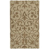 Estes Collection Hand-Tufted Virgin Wool Area Rug - 8x10'
