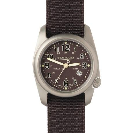 Bertucci A-2T Field Titanium Watch - Nylon Strap