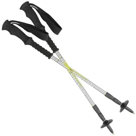 Komperdell Contour Titanal Vibrastop Trekking Poles - Compact, Pair (For Women)