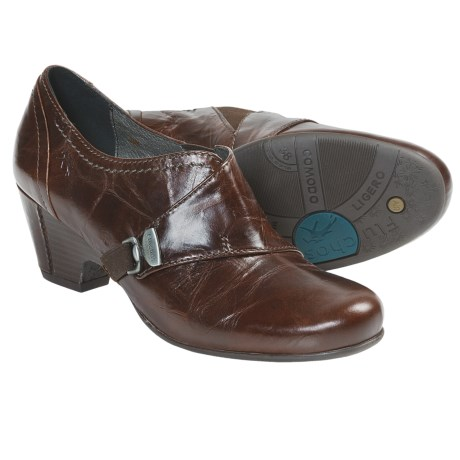 Fluchos Jeny Leather Shoes - Slip-Ons (For Women)