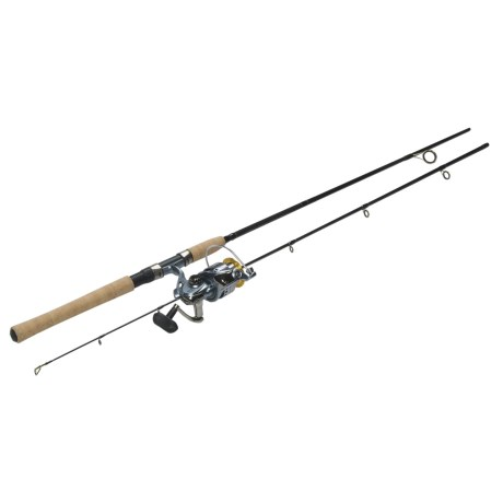 "Abu Garcia Ultra Cast Spinning Rod Combo - 7'6"", 2-Piece"