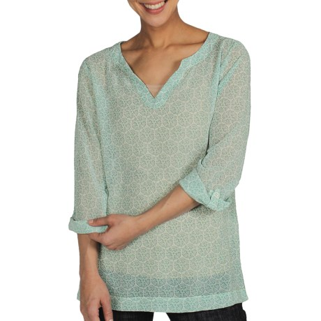 ExOfficio Next to Nothing Razi Tunic Shirt - Roll-Tab Long Sleeve (For Women)