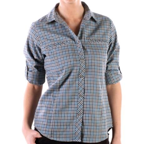 ExOfficio Trailing Off Micro Plaid Shirt - Long Sleeve (For Women)