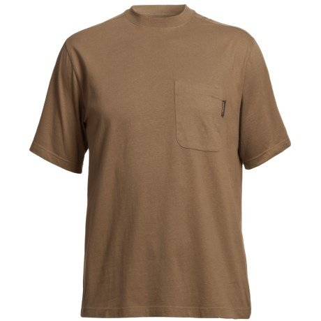 Wolverine Mason Pocket T-Shirt - Interlock Jersey Cotton, Short Sleeve (For Men)
