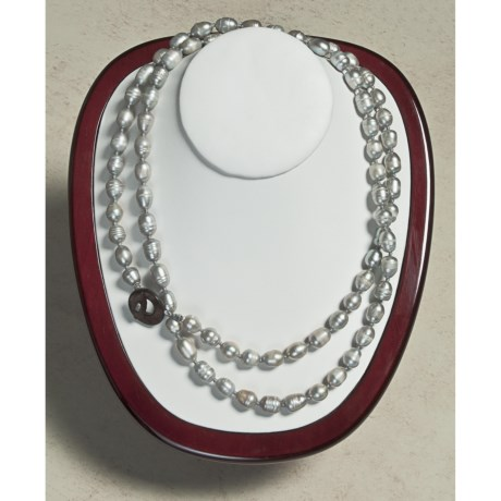 Aluma USA Pearl Necklace - 40""