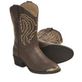 Laredo Lil Tumbles Cowboy Boots - R-Toe (For Kids)