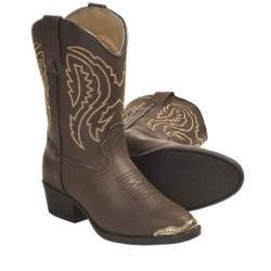 Laredo Lil Tumbles Cowboy Boots - R-Toe (For Kids)