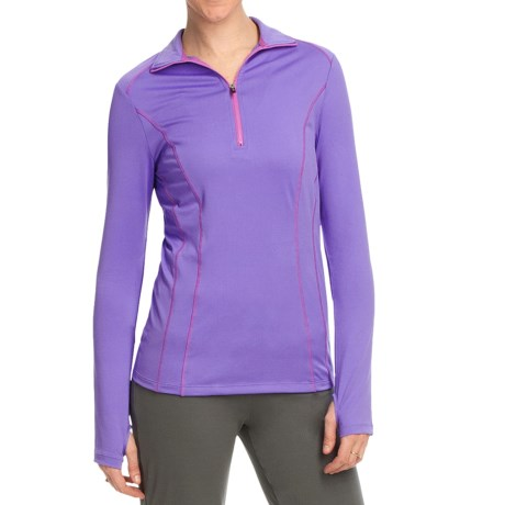 Ryka Influence Pullover - Zip Neck, Long Sleeve (For Women)