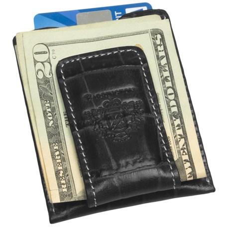 Barrington Original Money Clip - Leather