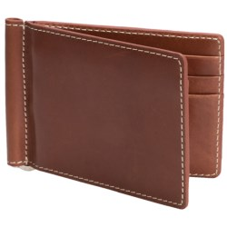 Barrington Flip Clip Wallet - Leather