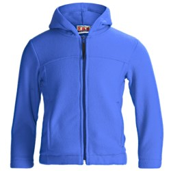 E.D.B. Fleece Hoodie Jacket (For Children)