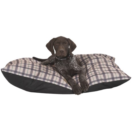 AKC Plaid Pillow Pet Bed - 27x36""