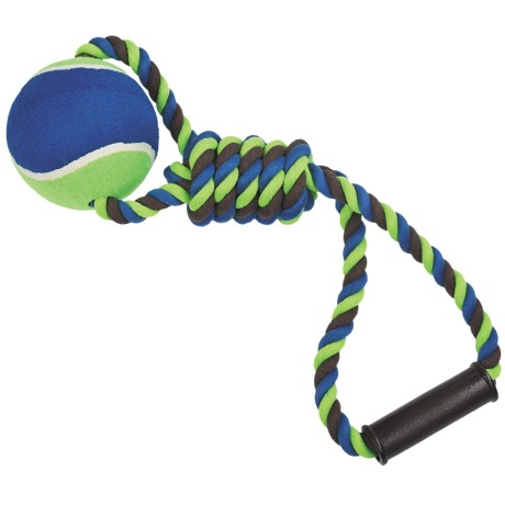 Bow-Wow Pet Rope and Ball Dog Toy - Large