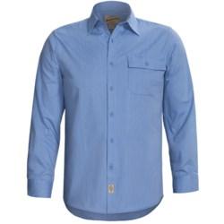 Button-Front Work Shirt - Long Sleeve (For Men)