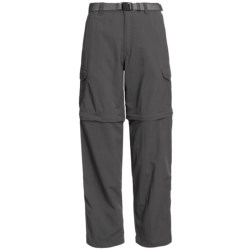 White Sierra Teton Convertible Trail Pants - UPF 30, Zip-Off Legs (For Women)
