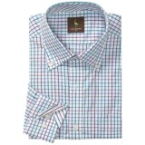 Tailorbyrd Mini-Check Sport Shirt - Long Sleeve (For Men)