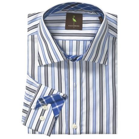 Tailorbyrd Multi-Stripe Sport Shirt - Long Sleeve (For Men)