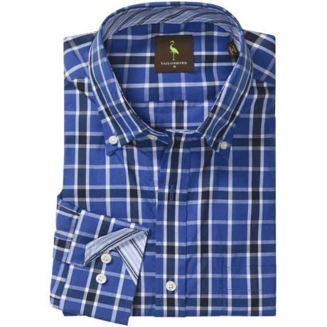 Tailorbyrd Check Sport Shirt - Long Sleeve (For Men)