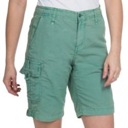 White Sierra Island Hopper Shorts - UPF 30 (For Women)