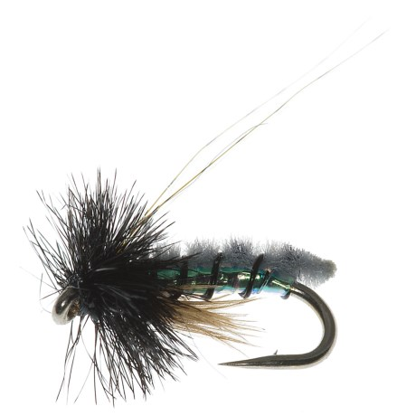 Specially made Micro Poopah Nymph Fly - Dozen