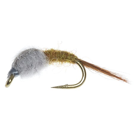Specially made Wet Blue Wing Olive Emerger Fly - Dozen