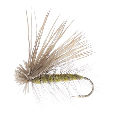 Elk Hair Caddis Dry Fly - Dozen