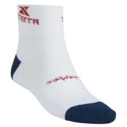 Balega Xterra Cycling Socks - Lightweight, Quarter-Crew (For Men)