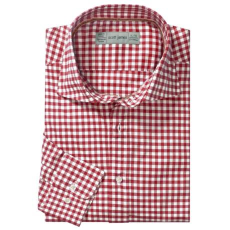 Scott James Hilton Gingham Sport Shirt - Long Sleeve (For Men)