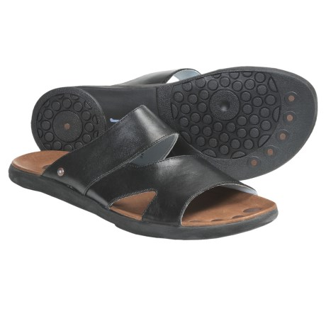 Juil Yuba Slides - Leather (For Men)