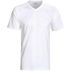 Gitman Brothers 100% Egyptian Cotton T-Shirt - V-Neck, Short Sleeve (For Men)