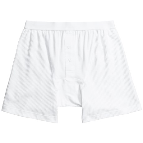 Gitman Brothers Egyptian Cotton Boxer Shorts - Underwear (For Men)
