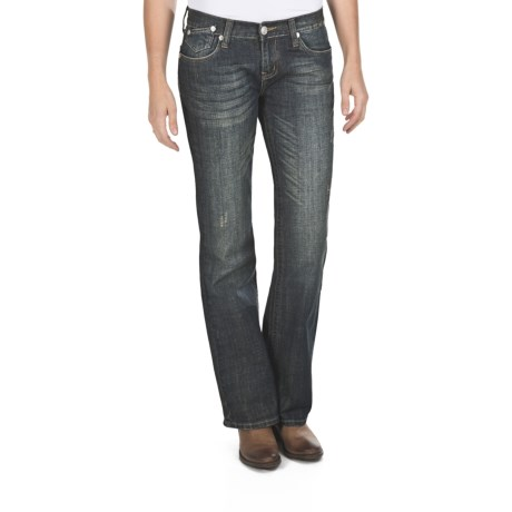 Petrol Reese 5-Pocket Jeans - Low Rise, Bootcut (For Women)
