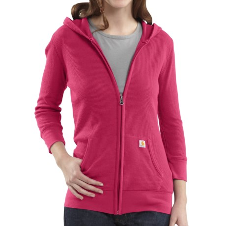 Carhartt Full-Zip Hooded Jacket - Long Sleeve (For Women)