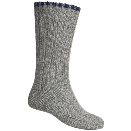 Falke Ribbed Boot Socks - Virgin Wool, Crew (For Men and Women)