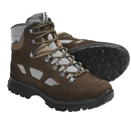 Hanwag Omaha Gore-Tex® Hiking Boots - Waterproof, Nubuck (For Men)
