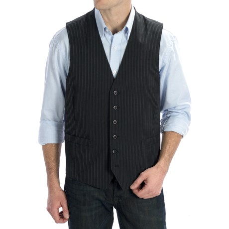 Martin Gordon Stripe Vest (For Men)