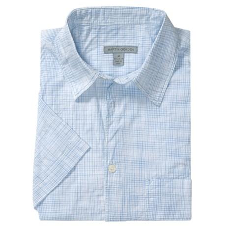 Martin Gordon Multi-Check Shirt - Short Sleeve (For Men)