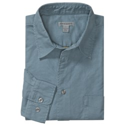 Martin Gordon Cotton Canvas Sport Shirt - Long Sleeve (For Men)