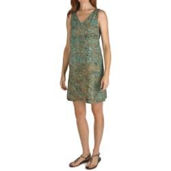 Nomadic Traders Batik Double-V Tank Dress - Rayon, Sleeveless (For Women)