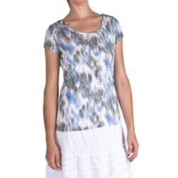 Nomadic Traders Tara Burnout T-Shirt - Short Sleeve (For Women)