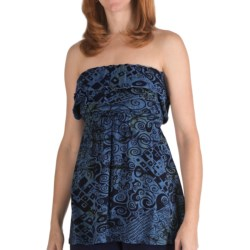 Nomadic Traders Alicia Batik Knit Shirt - Strapless (For Women)