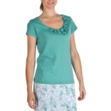 Nomadic Traders Pima Cotton Rosetta T-Shirt - Short Sleeve (For Women)