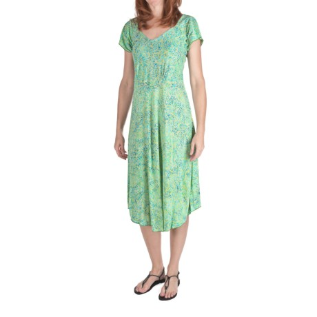 Nomadic Traders Batik Knit Cabana Dress - Short Sleeve (For Women)