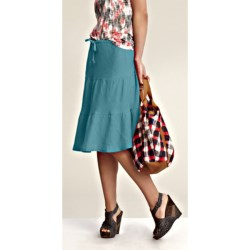 Nomadic Traders Gypsy Skirt - Linen-Rayon (For Women)