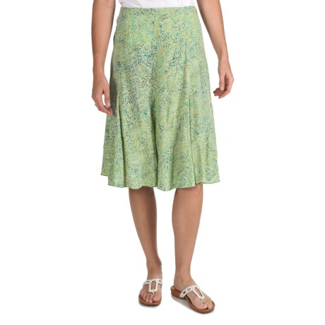 Nomadic Traders Flirty Skirt - Hand-Stamped Batik (For Women)