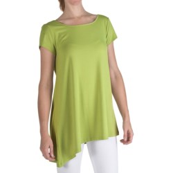 Nomadic Traders Marrakesh Reversible Tunic Shirt - Short Sleeve, Stretch Jersey (For Women)