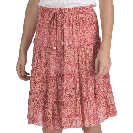 Nomadic Traders Boho Skirt - Rayon (For Women)