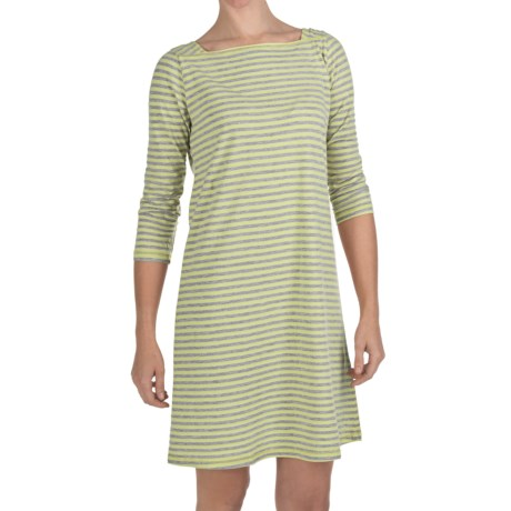 Nomadic Traders Shoreline Dress - 3/4 Sleeve (For Women)